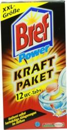 Energía de Henkel BREF fuerza 12 fichas de WC paquete