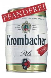 Krombacher barril de 5 litros de 4,8% vol