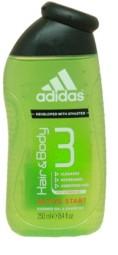 Adidas Cabello y Cuerpo active start gel de doucha 250ml