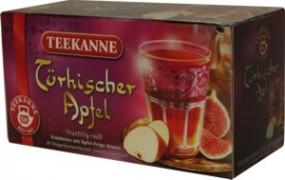 Té de manzana turco olla afrutado y dulce