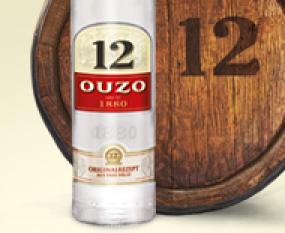 Ouzo 12 12 original - 0,7 L 38 %