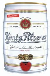 König Pilsener 5 litros barril de fiesta 4,9% vol