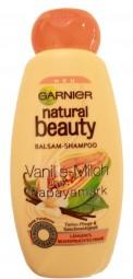 Garnier belleza natural vainilla leche y papaya marca
