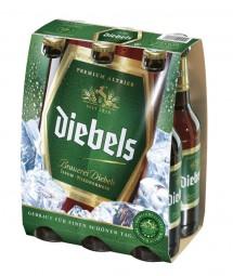 Old Diebels premium cerveza negra sixpack 6 x 0,33 L