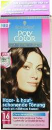 Poly Color medio marron pelo 16