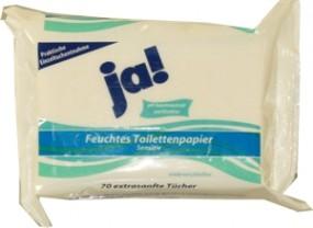 ¡Sí! Papel higiénico mojado Sensitive 70 piezas