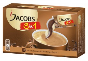 Café instantáneo de Jacobs 3 en 1