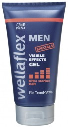 Hombres Ultra Strong Hold Gel Efectos VIisible 150ml