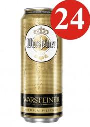Setas Warsteiner 24 x 0,5 l estaño