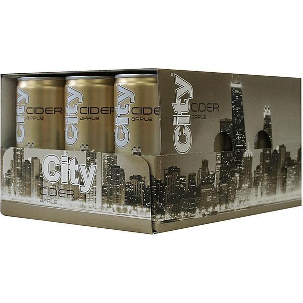 2 x 12 atas de 0,2 l City sidra de bebida que contiene sidra alc. 3.5% libre de hipotecas