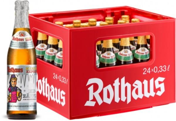24 x Rothaus Eiszaepfle Maerzen Exportación 0,33 L- 5,6% Alkohol Originalkiste