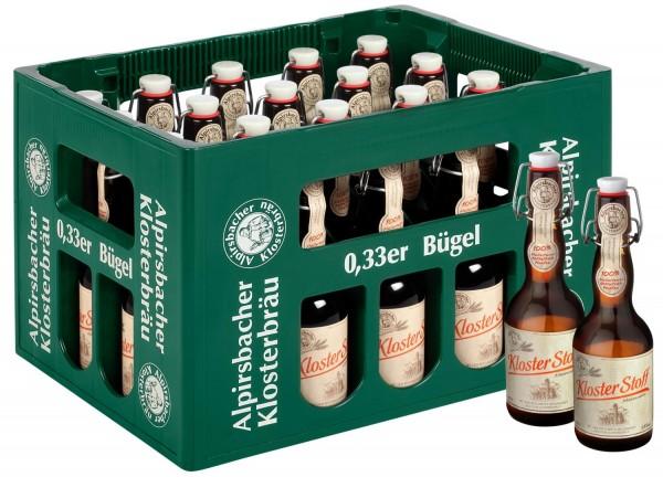 20 x Alpirsbacher Klosterbrau Kloster Tela Märzenbier 0,33l 5,9% vol. caso original
