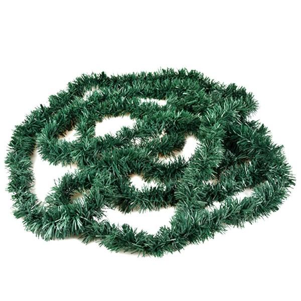 3 M de la hoja de hierba plástica de guirnalda verde fijo