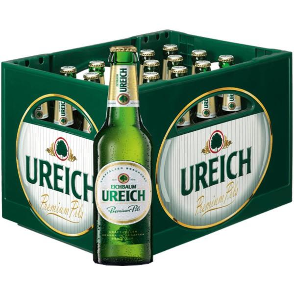 20 x Eichbaum Ureich Premium Pils 0.5l 4.9% vol. caso original