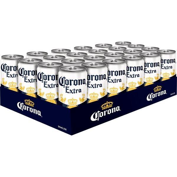 24 latas Corona Extra con cerveza 0.33L 4.5% alcohol inc. € 6.00 depósito de ida