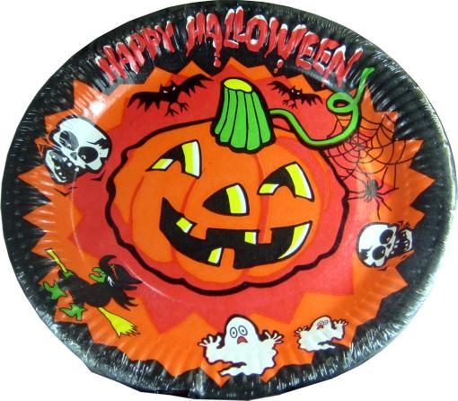 Feliz 8 Pack de vasos de papel para Halloween