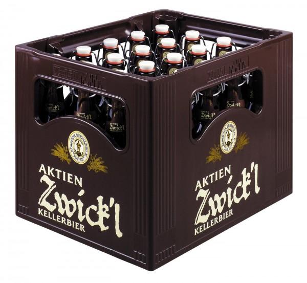 Acciones Zwick'l Kellerbier 20 x 0,5 litros 5,3 % vol