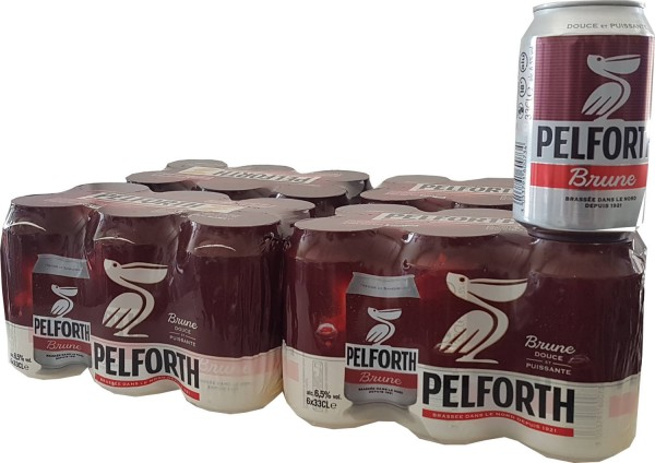 24x Pelforth Brune 0,33l dosifica 6,5% vol