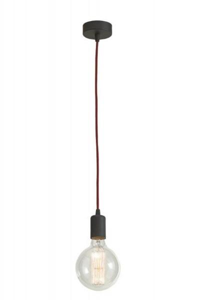 Lámpara de techo moderna LAMPEX 1 de metal / vidrio de 80 x 12,5 cm