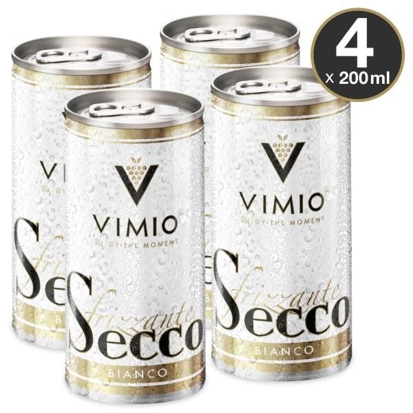 Vimio Frizzante Secco bianco 10.5% vol 200 ml lata