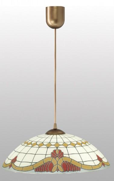 LAMPEX lámpara de techo de PVC / vidrio 105 x 40 cm