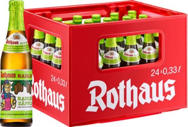 24 x Rothaus Radler Tannenzäpfle 0,33 L 2,4% de alcohol
