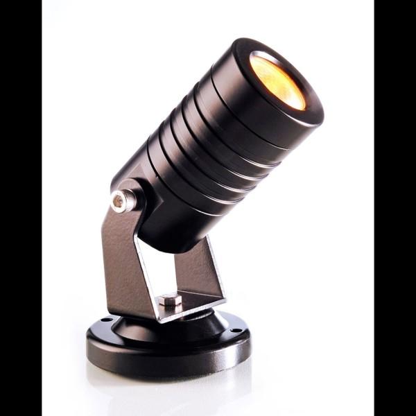 Kapego potencia LED Spot Mini Ámbar 24V 3W 30 ° IP65