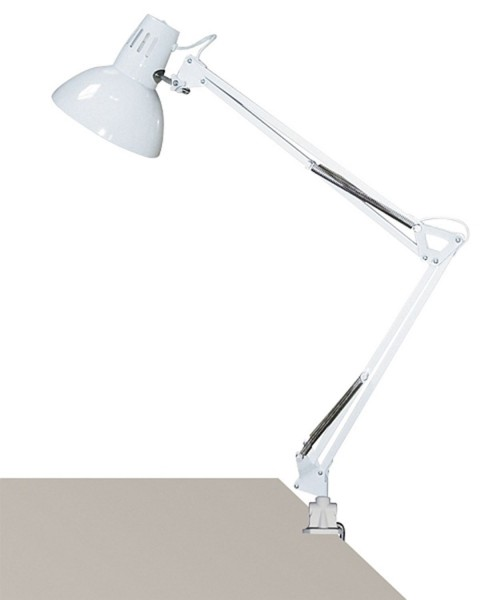 Booklight oficina Rabalux Arno gris claro