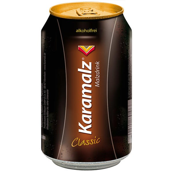 24 x latas de Karamalz Classic 0.33L latas sin alcohol_INWEG