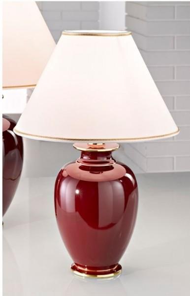Austrolux Giardino-Bordeaux lámpara de mesa de cerámica 1 de llama
