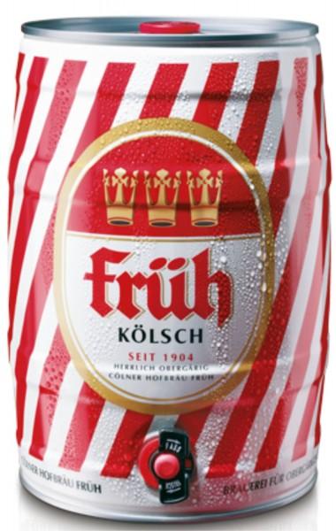 barril de Frueh Koelsch 5 L del partido 4.8% vol.
