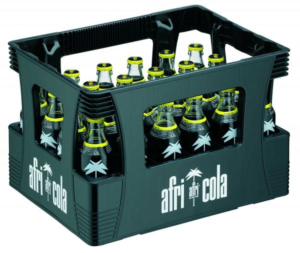 24 x Afri Cola 25mg 0,2L Botella de vidrio original