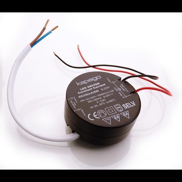 Kapego LED de alimentación 9-23V 350mA 8W