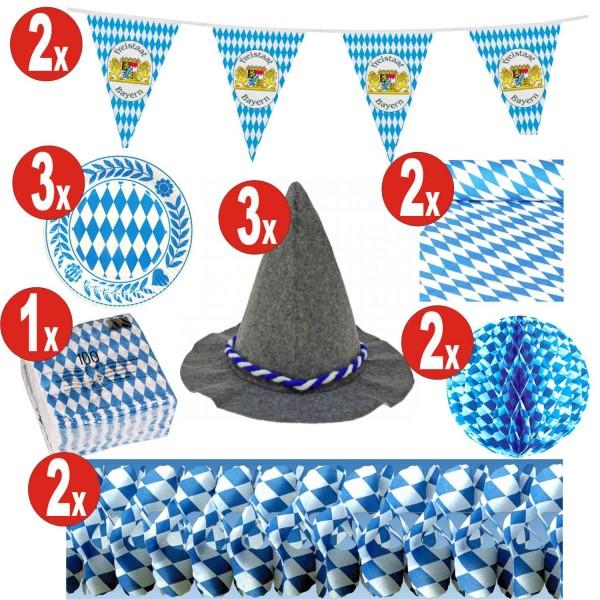 Decoración de 15 piezas Oktoberfest set_15 = 141 artículos