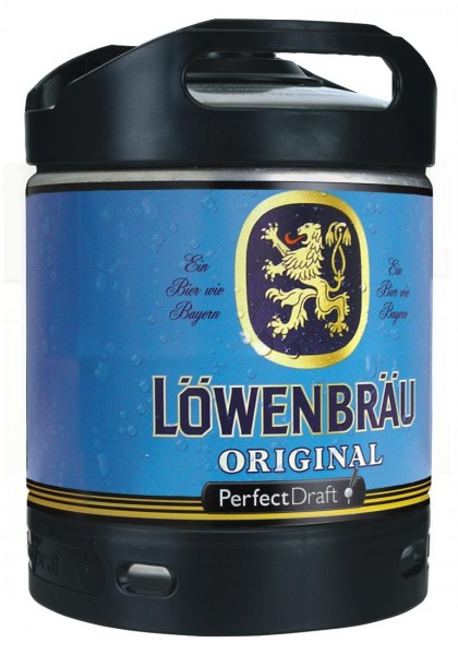 Loewenbraeu Original Perfect Draft Barril de 6 litros 5.2% vol