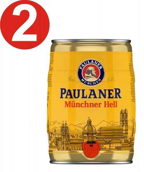 2 x Paulaner Muenchner infierno 5 litros de caja partido vol 4,9%