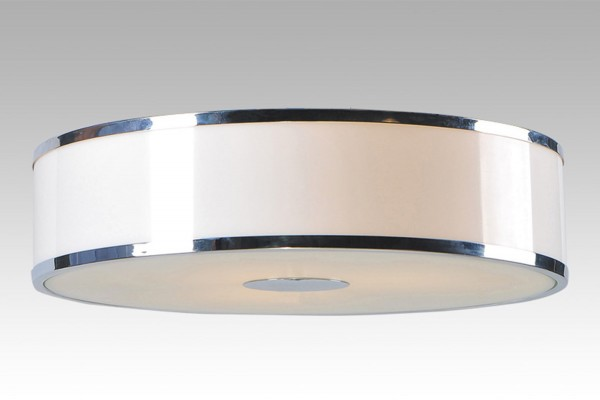 techo LAMPEX Della 3P de metal / vidrio / PVC 7 x 40,5 cm