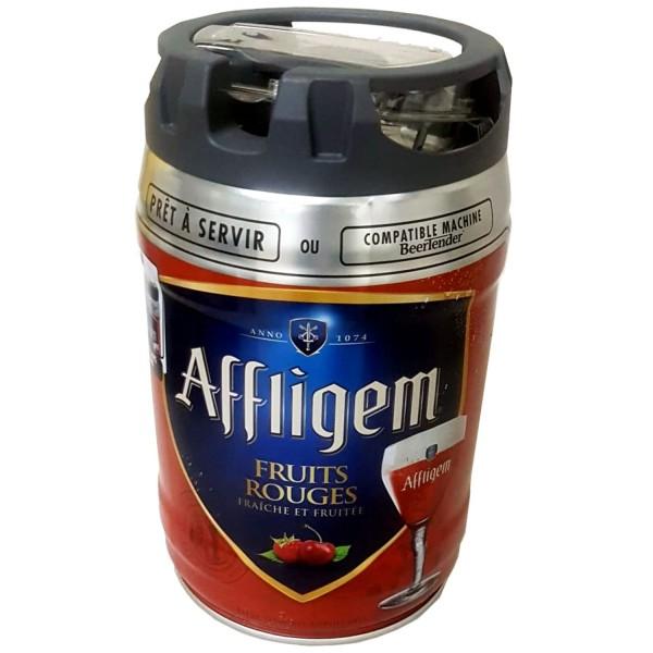 Barril de fiesta Affligem Fruits Rouge Barril de 5 litros con grifo 5,2% vol.