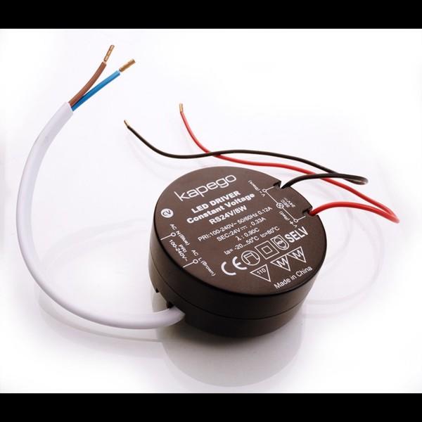 Kapego LED de alimentación de 24V 8W 0,67A