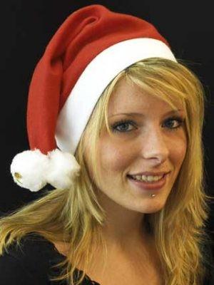 Sombrero de Santa...045 con 2 2Gloeckechen Bobble
