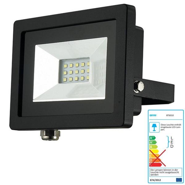 Mejor iluminación Foco LED 10W - BT6010 - fundición a presión de aluminio negro