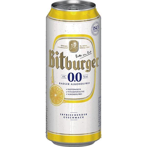 2 x Bitburger Radler 24 x 0.5L = 48 latas ALCOHOL FREE cerveza con sabor a limón _INWAY
