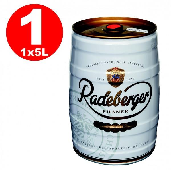 Koenig Rey Pilsener barril de fiesta de 5 litros 4.9% vol