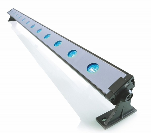 Kapego LED arandela de la pared RGB + CW 24V IP65 45 °
