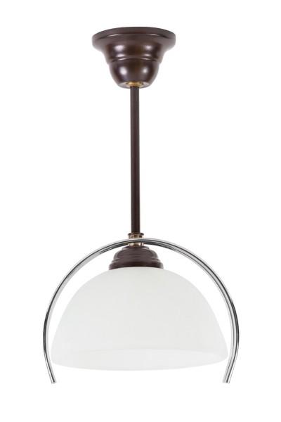 LAMPEX luz colgante de metal / cristal de 33 x 22 cm
