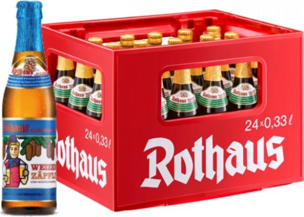 24 x Rothaus Hefeweizen Senza alcool 0,33 L Scatola originale Weizenzäpfle