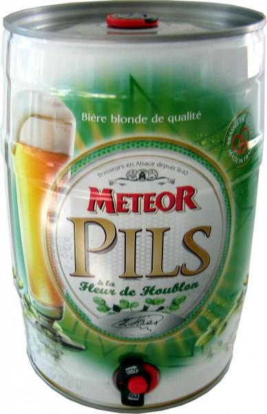Meteor Pils partido 5 litros dosis de 5,0% vol.