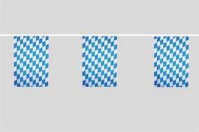 Banderas de cadena...Baviera con diamante 6 metros