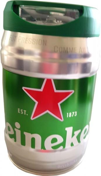Heineken barril de cerveza 5L DraughtKeg 5% vol.
