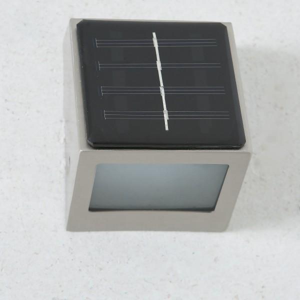 Mejor Iluminación CAIRO SOLAR - BT1040C Solar - Acero inoxidable LED